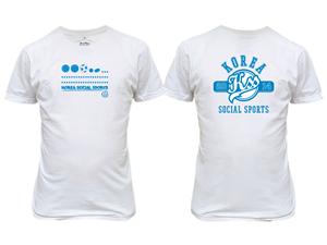 Graphic Design by P.O.Design - Korea Social Sports T-shirts design