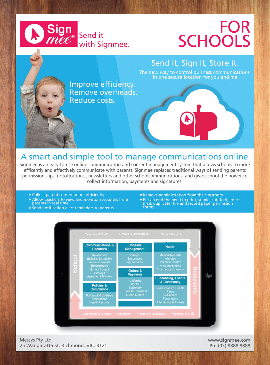Bold Modern Software Brochure Design For A Company By Sbss Design 3589354