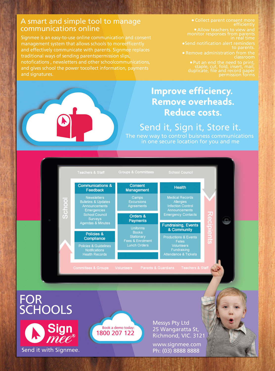 Bold Modern Software Brochure Design For A Company By Sbss Design 3589360