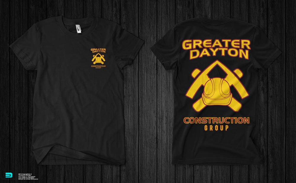 Construction company t shirt design t shirt design for Company t shirt design inspiration