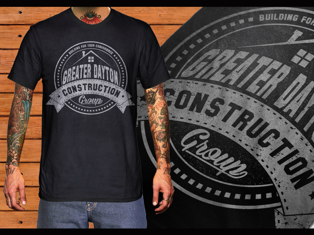 construction t shirt design for greater dayton