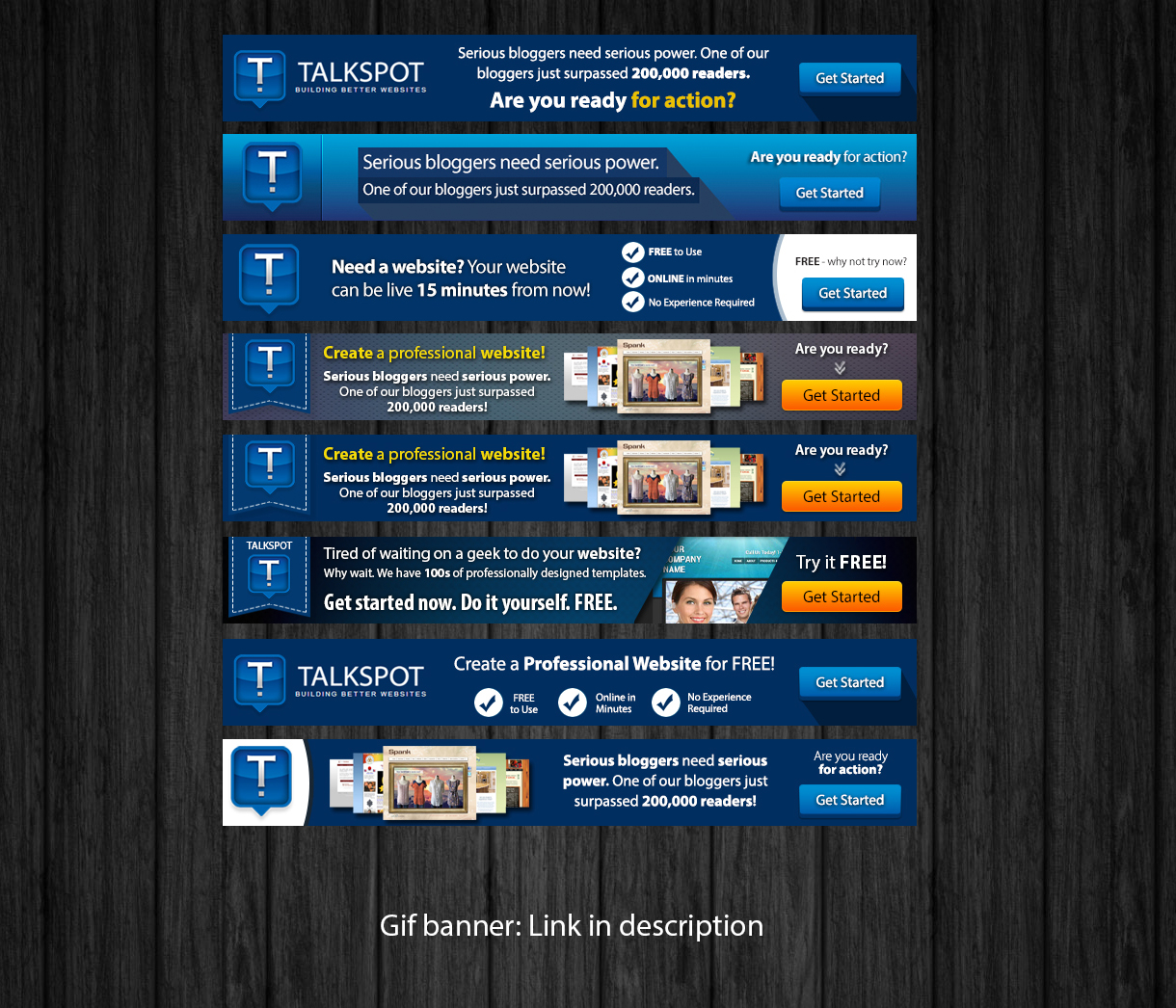 Credit card banner ad design for talkspot by travelfreak banner ad design by travelfreak for talkspot design 3610274 solutioingenieria Image collections