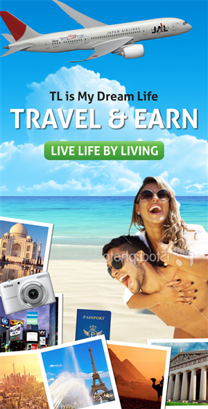 Banner Ad Design by LV Design Studios - STANDING BANNER for TRAVEL business
