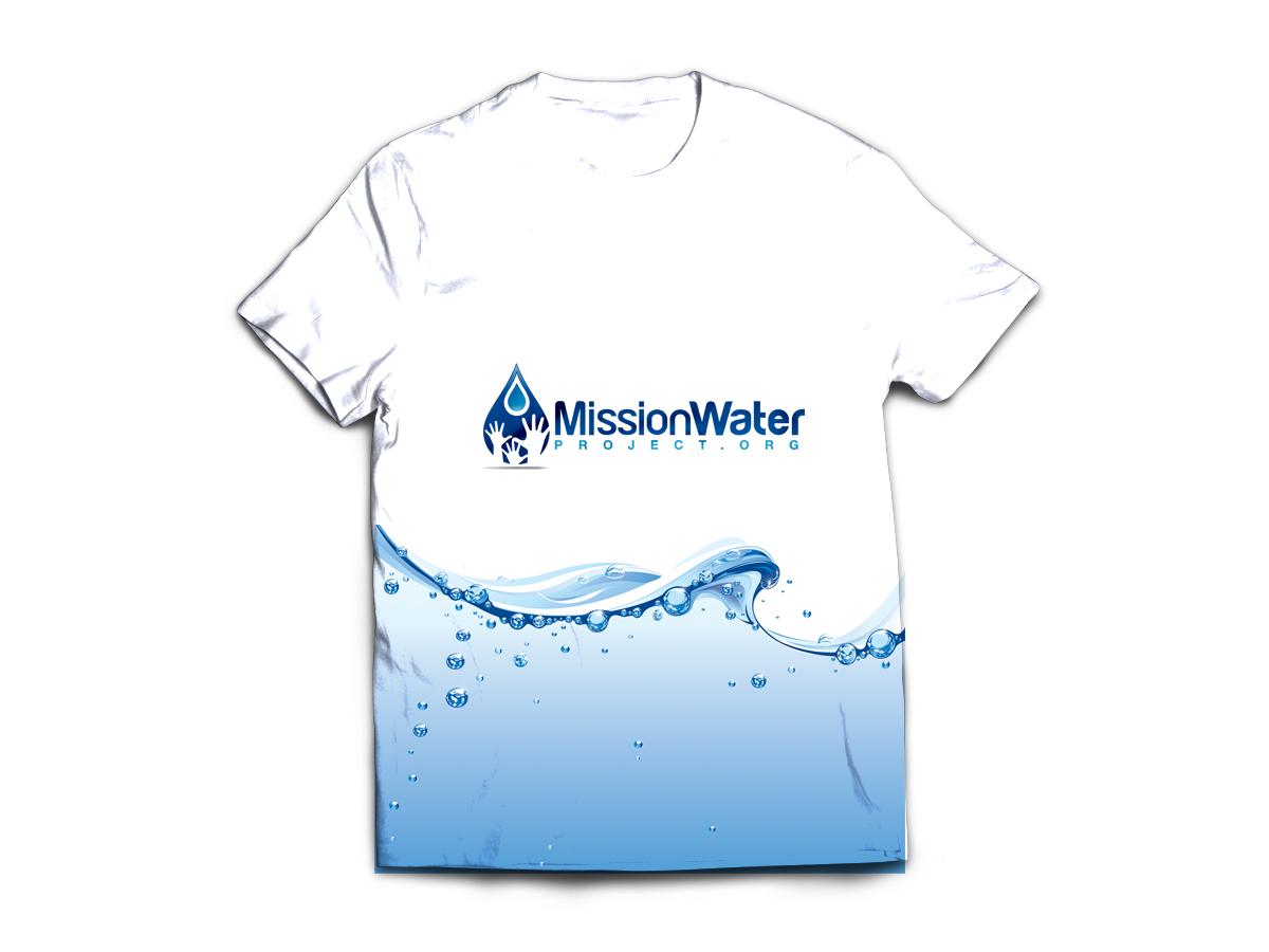 Non profit t shirt design for flood the nations by jenn for Non profit t shirt printing