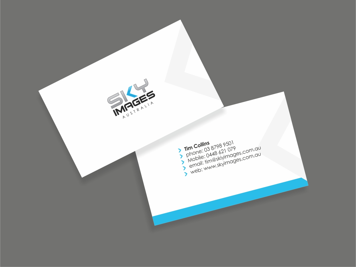 Sky Business Card Designs | 18 Sky Business Cards to Browse