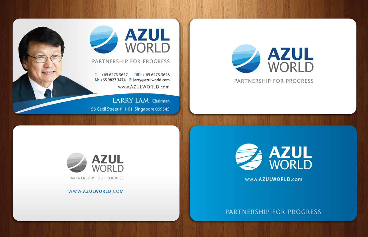 Business Card Design By Sbss For Global Investment Holding Company