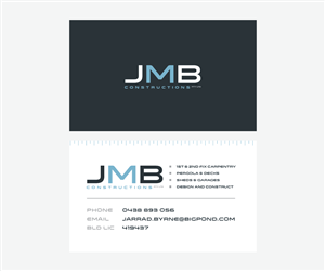 Construction company business card design galleries for business card design for jarrad byrne by designedbykyle colourmoves