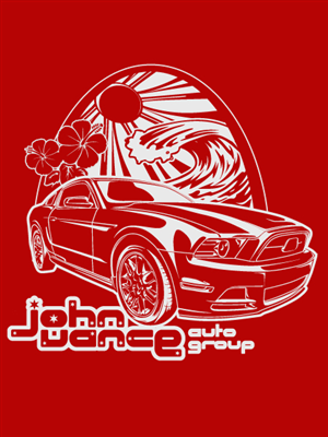 Personable, Colorful, Automotive T-shirt Design for a Company by ...