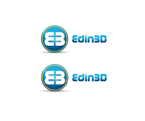 Logo Design by red_designs - logo for my new 3D printing business - edin3D