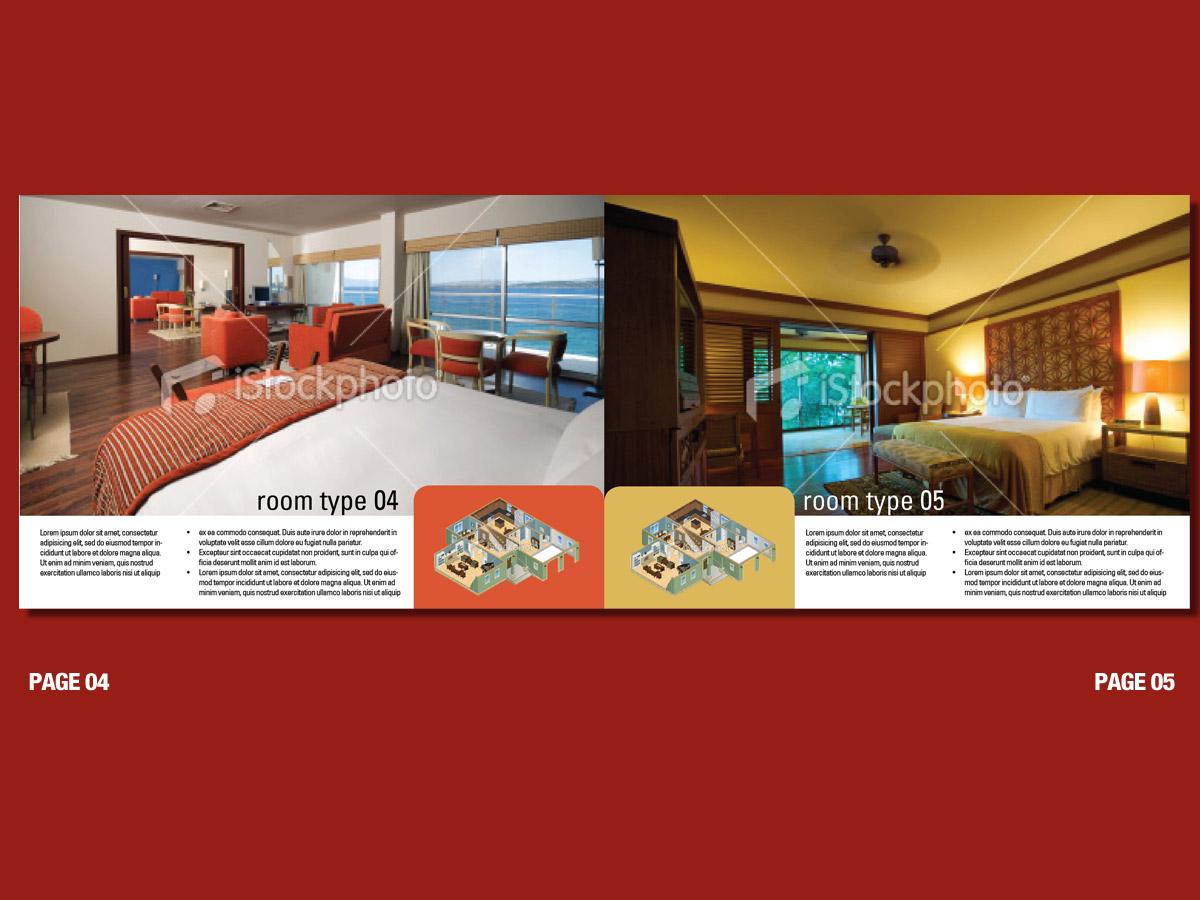 38 upmarket bold hotel brochure designs for a hotel for Hotel brochure design
