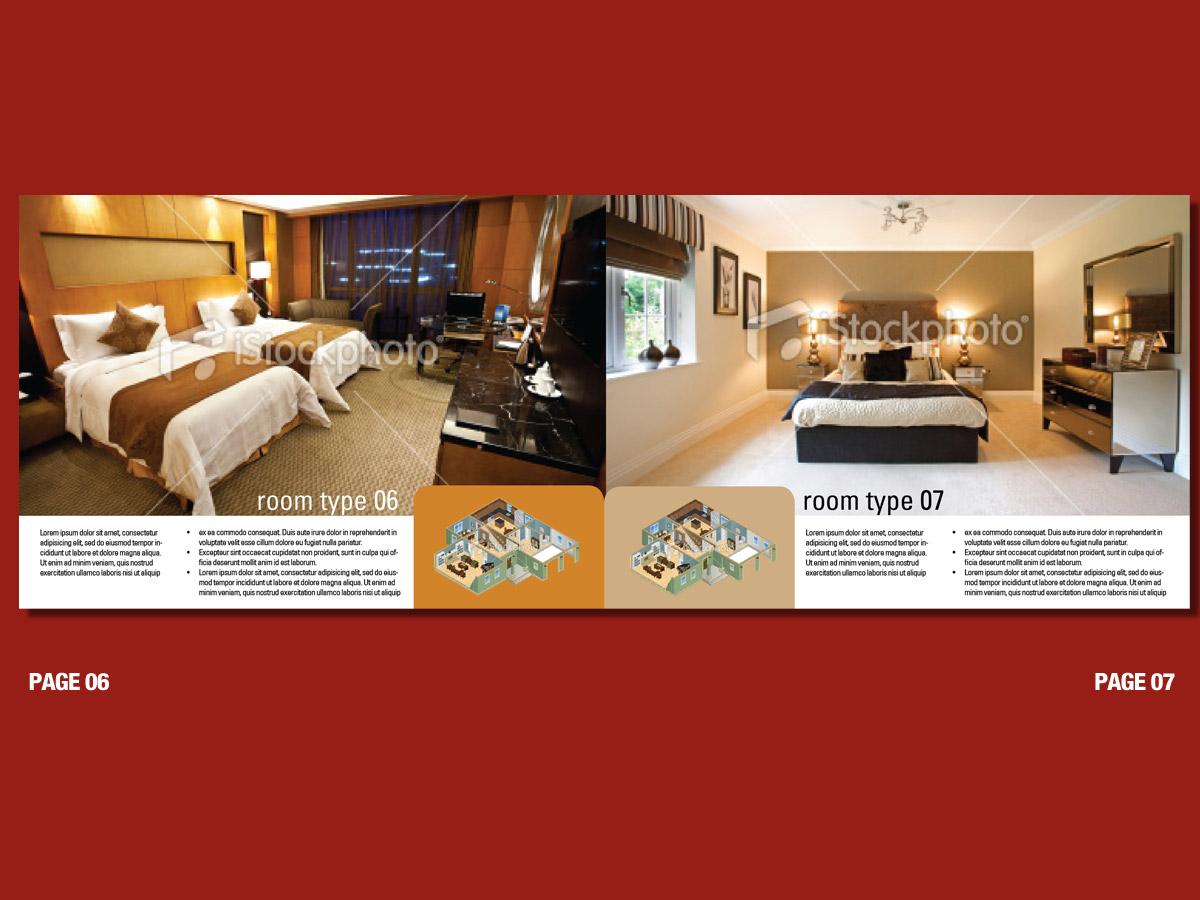 Upmarket bold brochure design for duncan wills by for Hotel brochure design