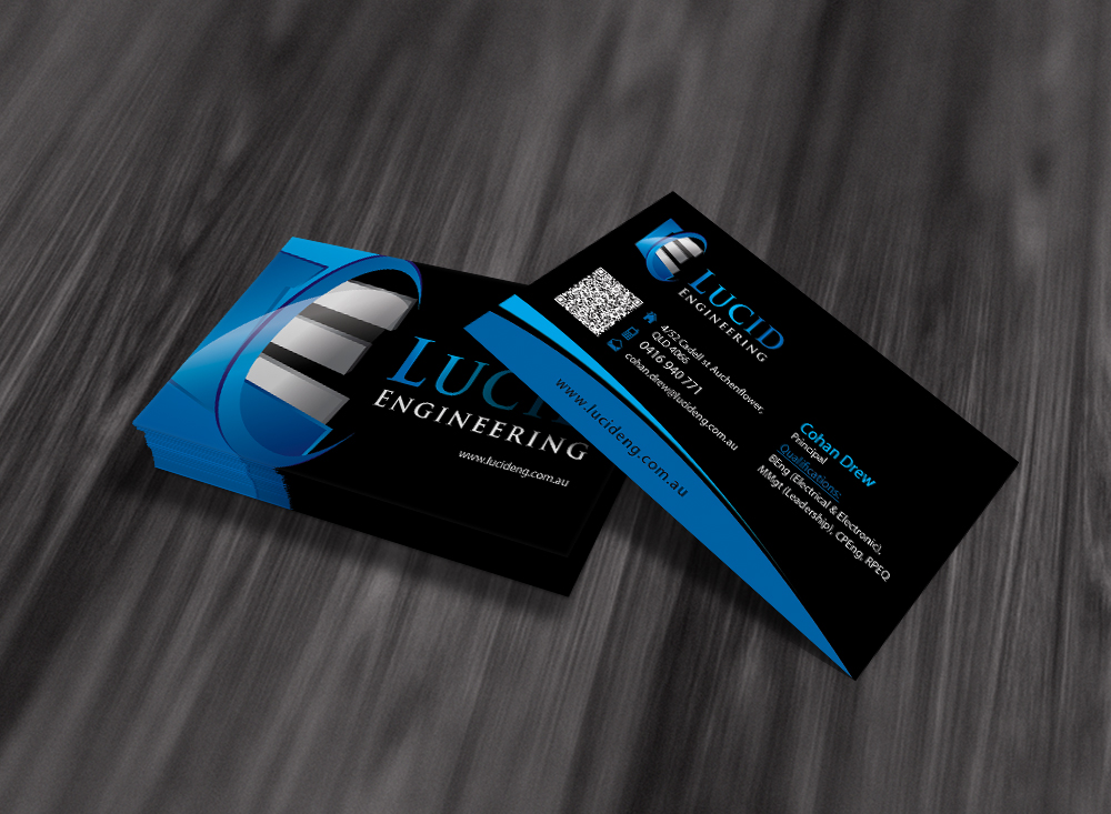 Elegant playful construction business card design for a company by business card design by dirtyemm for this project design 907338 reheart Images