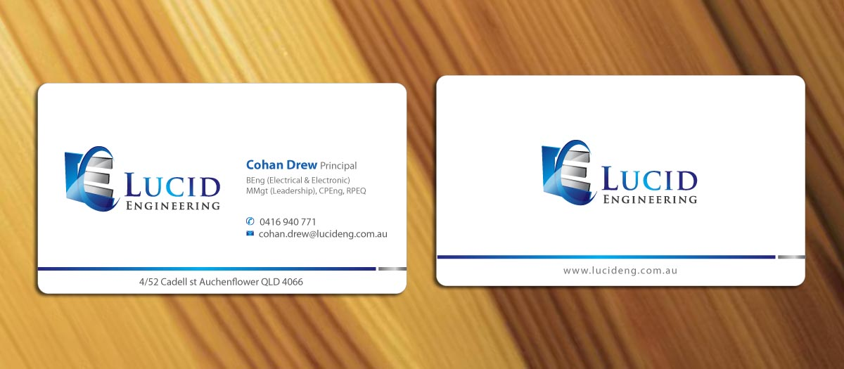 Business Card Design Engineering Gallery - Card Design And Card Template