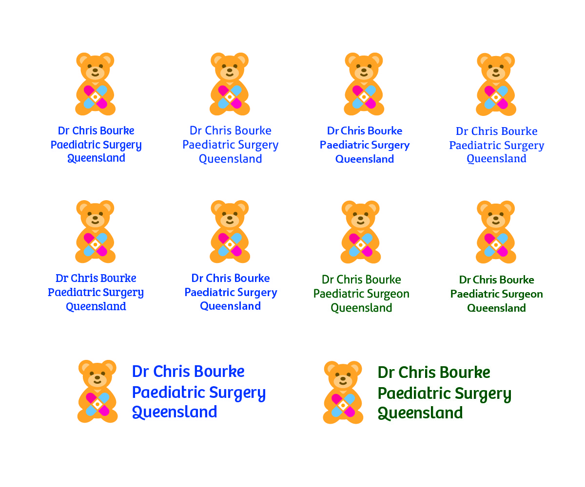 Catering Logo Design For Dr Chris Bourke Or Paediatric Surgery Queensland Paed Surg Qld By Misstonka Design 3716355
