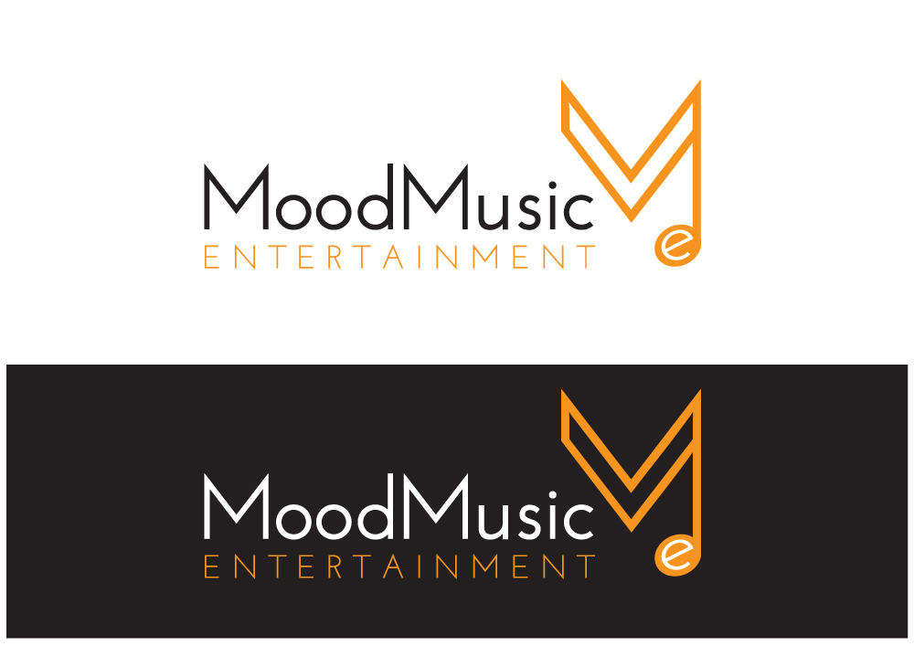 Logo design for mood music entertainment by concept for Music entertainment