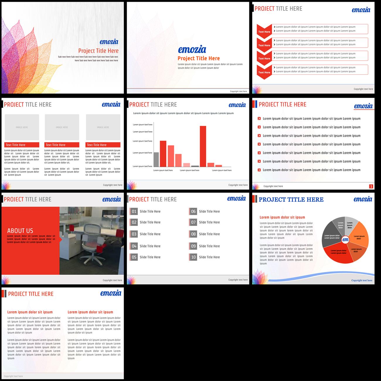software powerpoint design for emozia by best design hub design 3631077. Black Bedroom Furniture Sets. Home Design Ideas