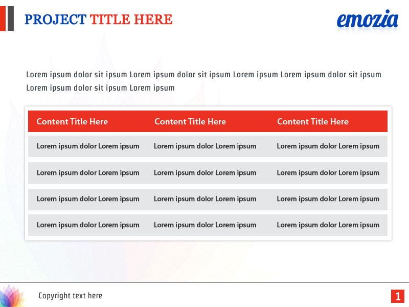 software powerpoint design for emozia by best design hub design