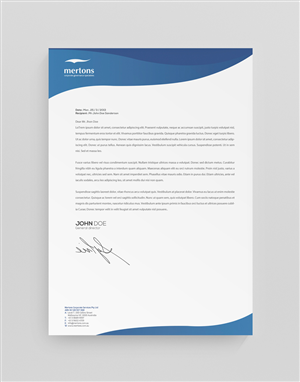 letterhead design word
