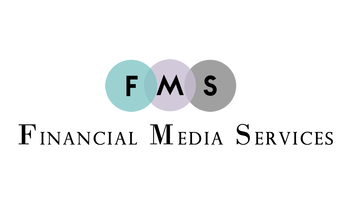 Upmarket, Elegant, Communication Logo Design for Financial Media