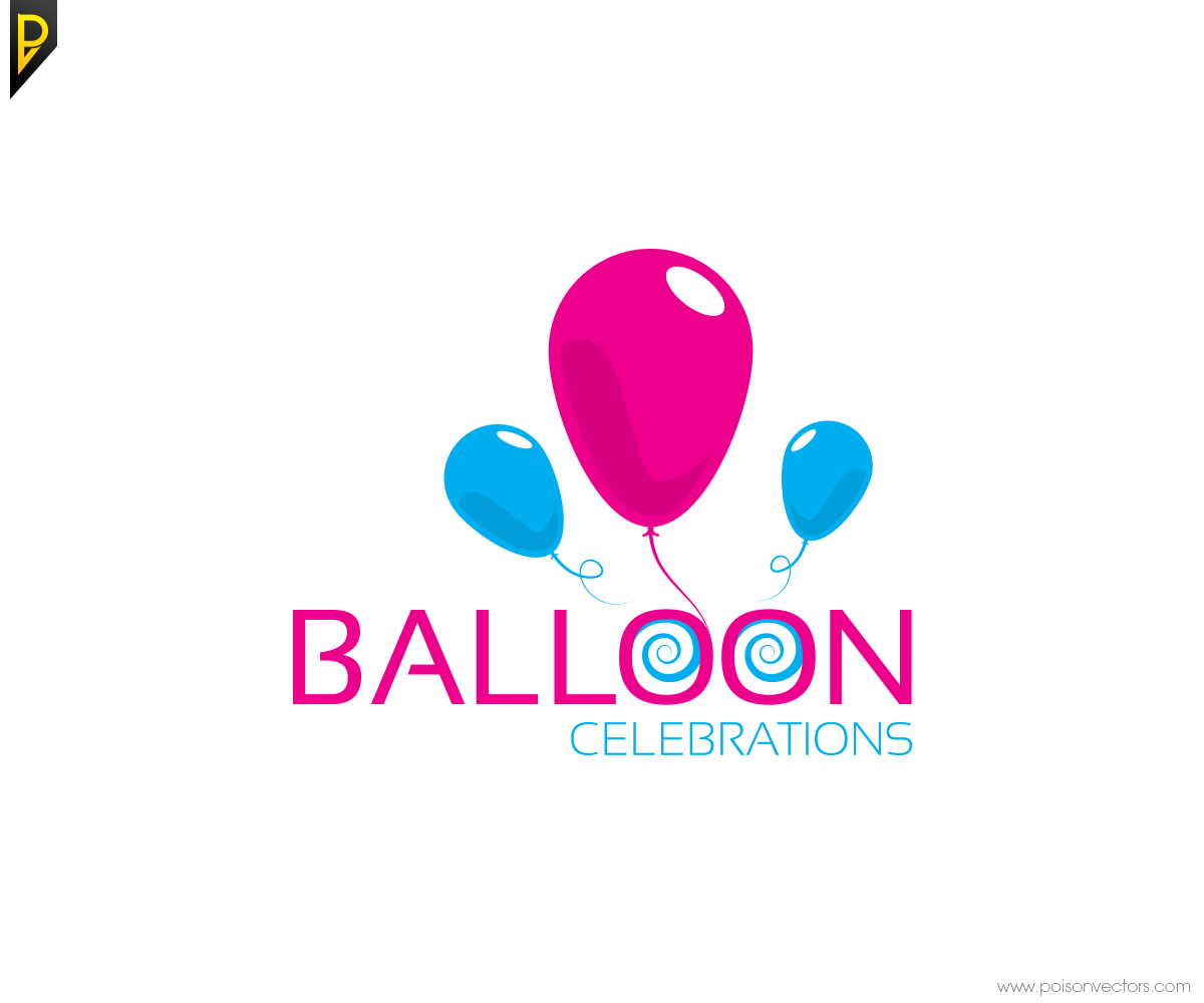 Logo Design for Balloon Celebrations by poisonvectors