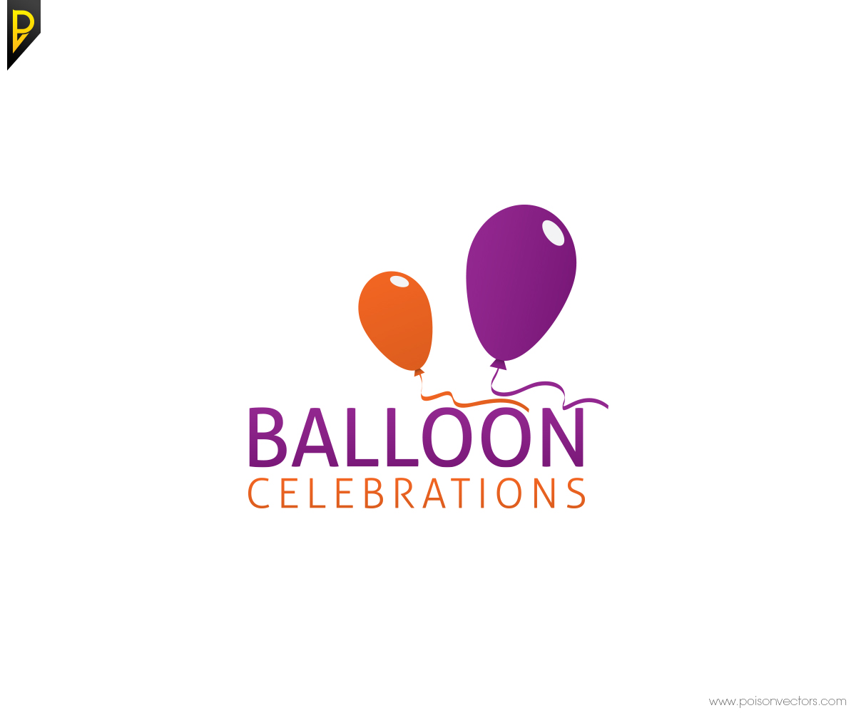 Business Logo Design For Balloon Celebrations By