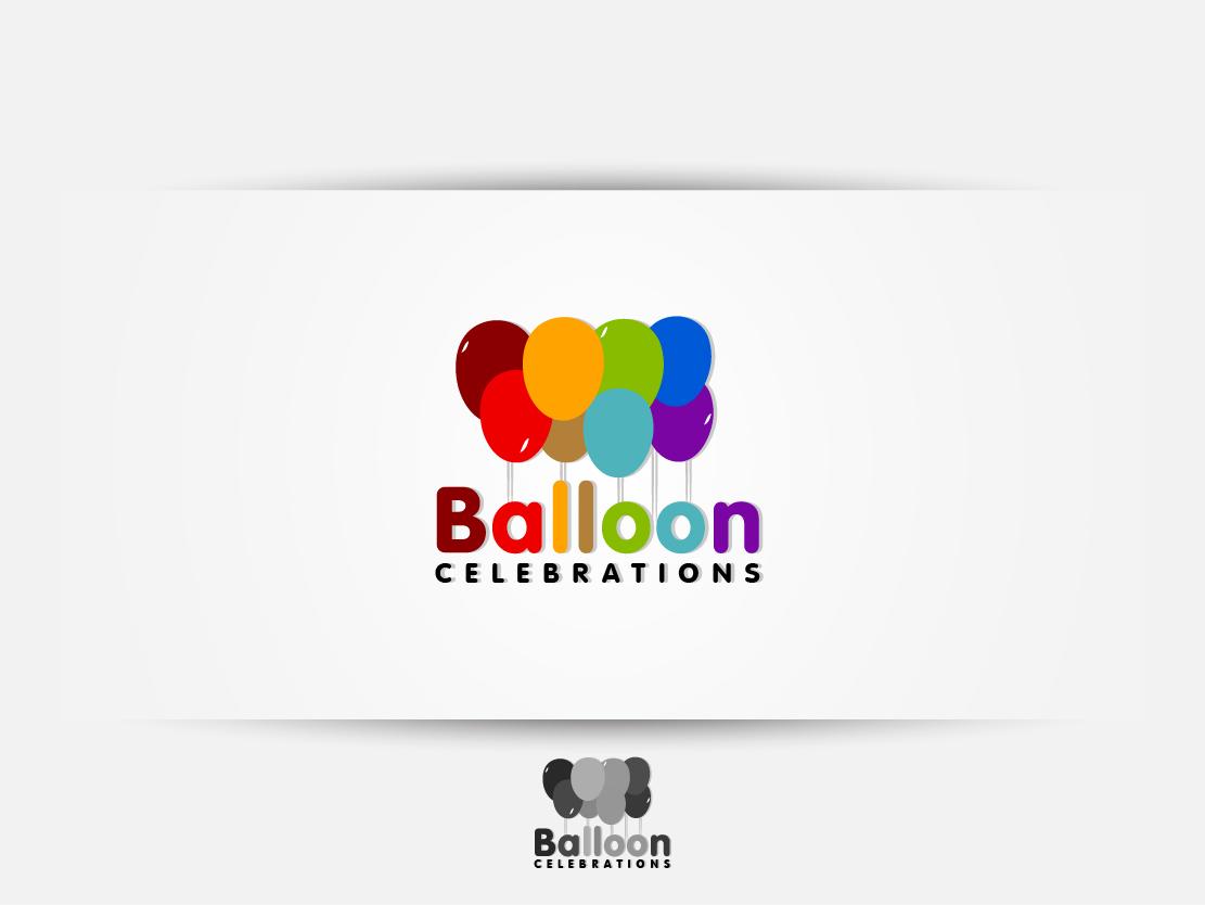 Business Logo Design For Balloon Celebrations By Navd