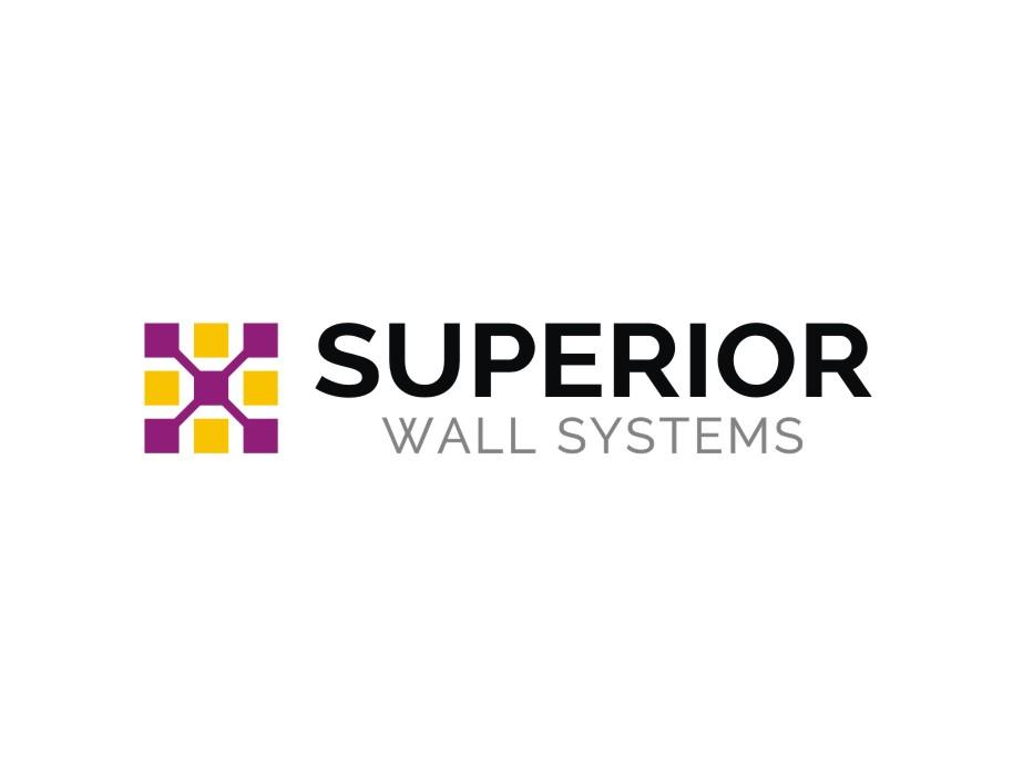 Construction logo design for superior wall systems by for Superior wall system