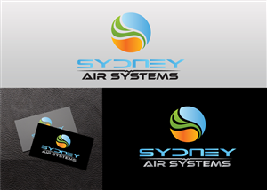 Logo Design by alidicera - Air conditioning, ventilation, custom ductwork,...