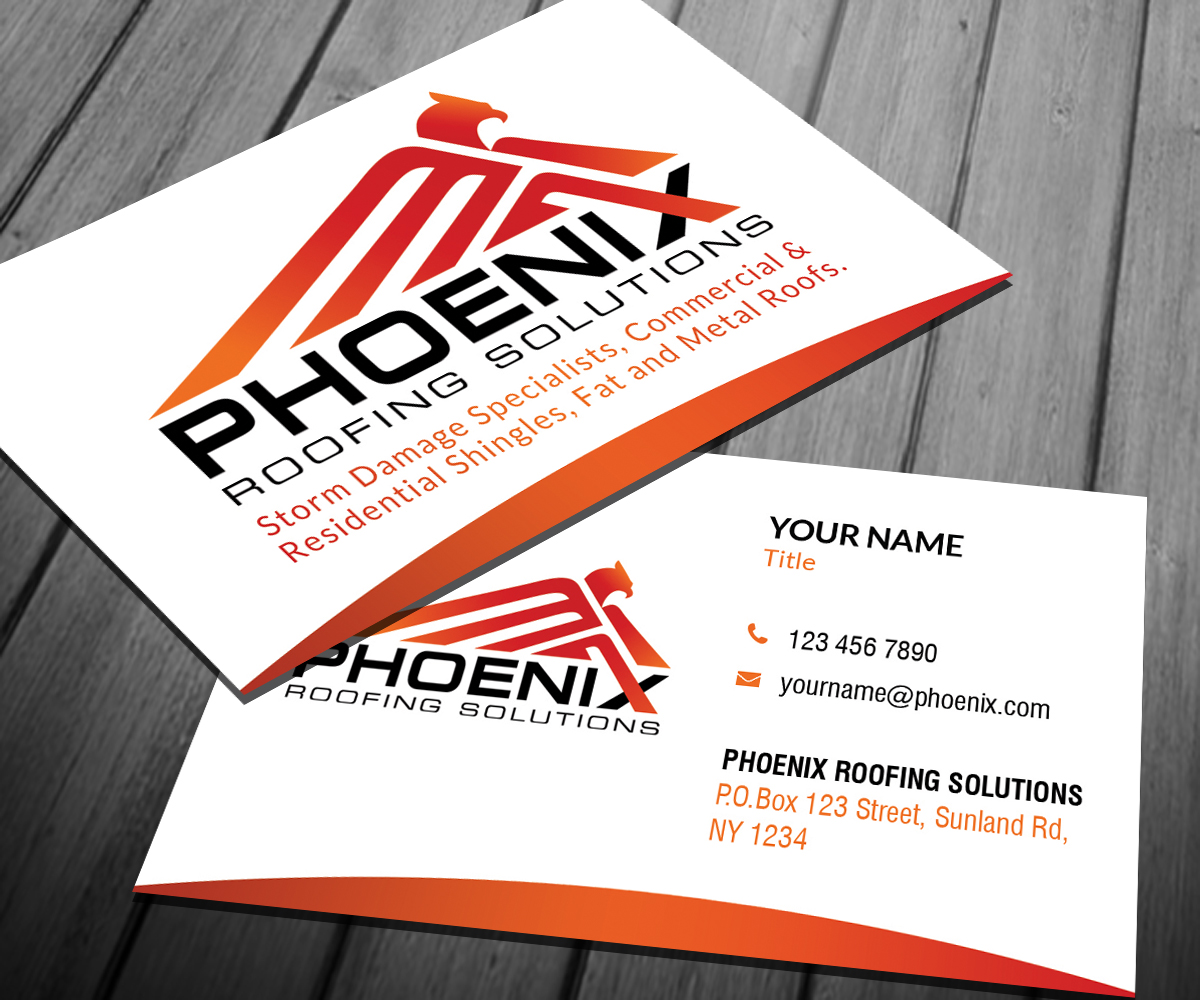 Metal Roofing Business Cards Choice Image - Card Design And Card ...