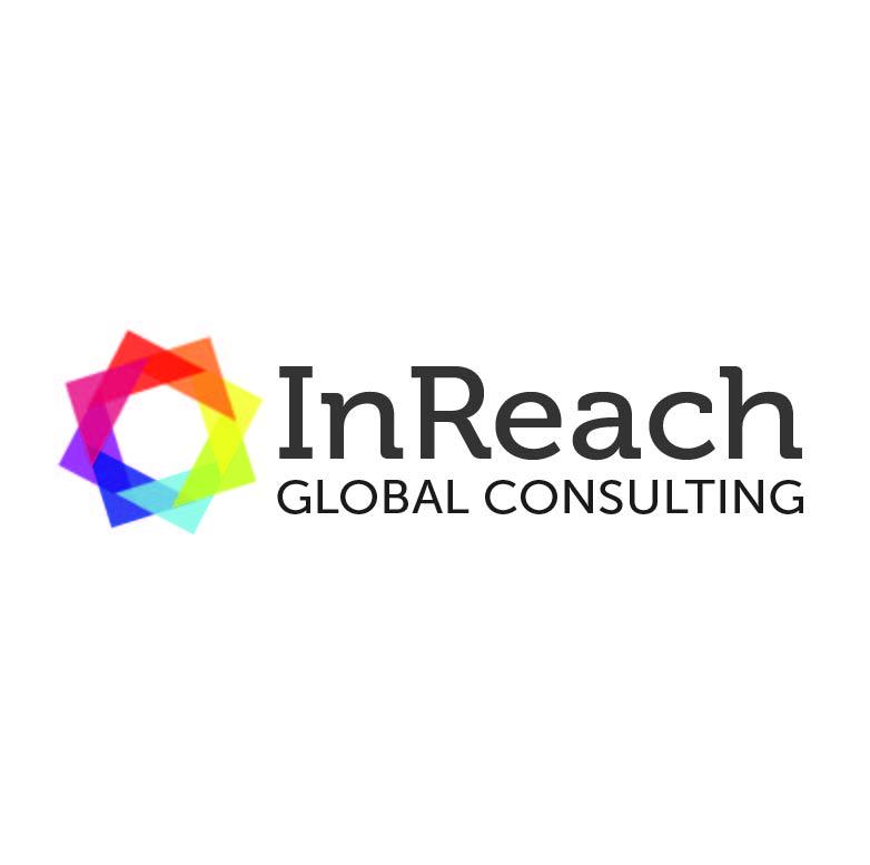 Upmarket moderno logo design for inreach global for Global design consultancy