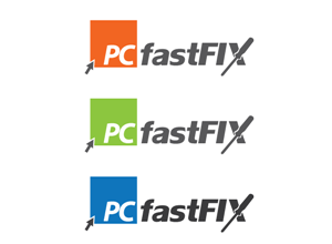 Logo Design job – PC fastFIX sameday service all pc and laptop services – Winning design by Dez Lartey