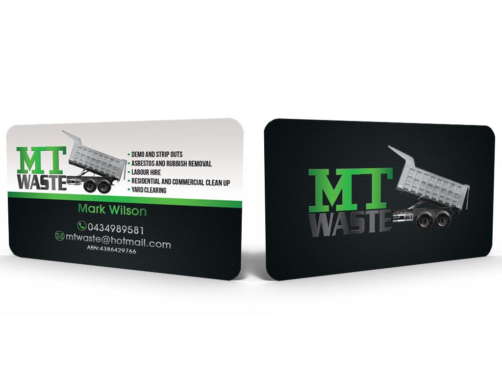 19 masculine business card designs business business card design business card design by hardcore design for mt waste design 3671287 colourmoves