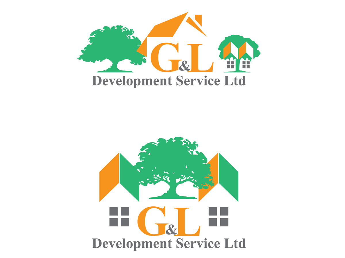 Building logo design for g l development service ltd by for Apartment design and development ltd