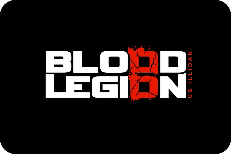 Modern Professional Games Logo Design For Blood Legion By Jace