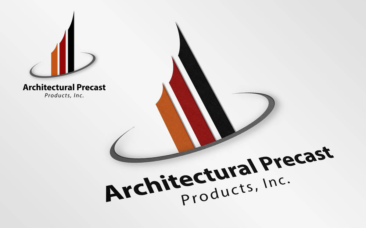Logo design for architectural precast products inc by for Architectural supply inc