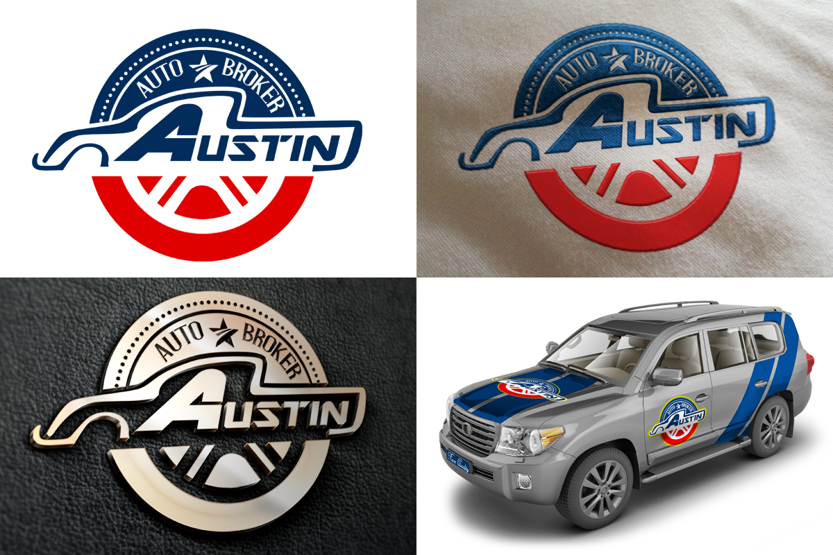 Used Car Logo Design for Austin Auto Brokers by vendelin