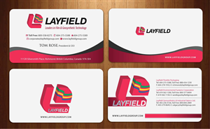 Corporate Business Card Design 924351