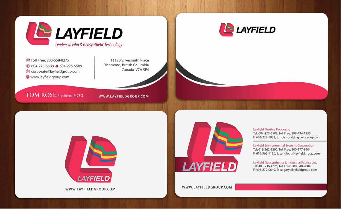 Professional serious business card design for flexpack by sbss business card design by sbss for industry leading b2b plastics manufacturer looking for innovative business card reheart Gallery
