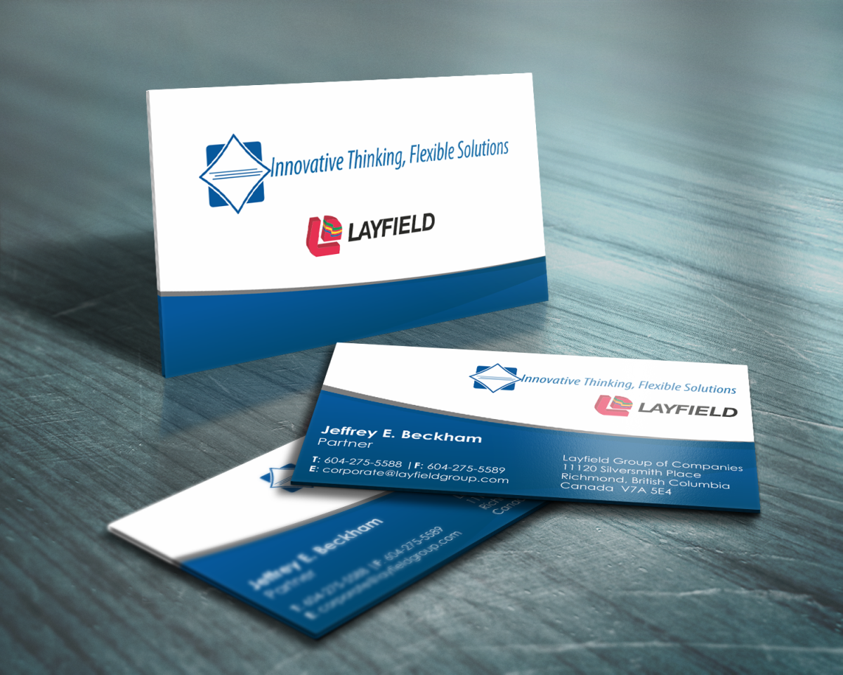 Professional, Serious, Business Business Card Design for FlexPack by ...
