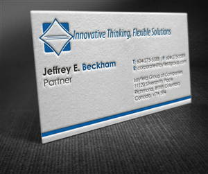 Business Card Design Contest Submission #946510