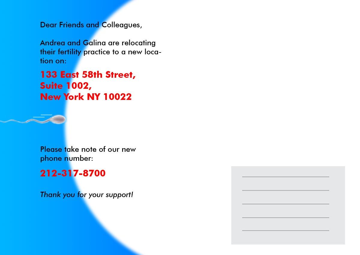 Greeting card design for andrea vidali by das2000 design 928493 greeting card design by das2000 for change of address card design 928493 kristyandbryce Gallery