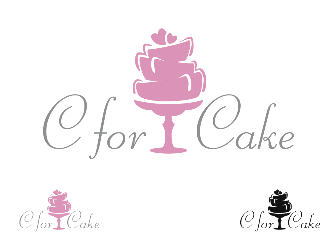 Cake Designs Logo : Logo for cake decorating business C for cake Logo Design ...