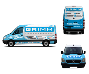 Sticker Design by mmhide - Service Transporter Design // Vehicle Branding ...