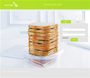 Web Design by Danish - Clean/luxurious/food site. Work should be compl...