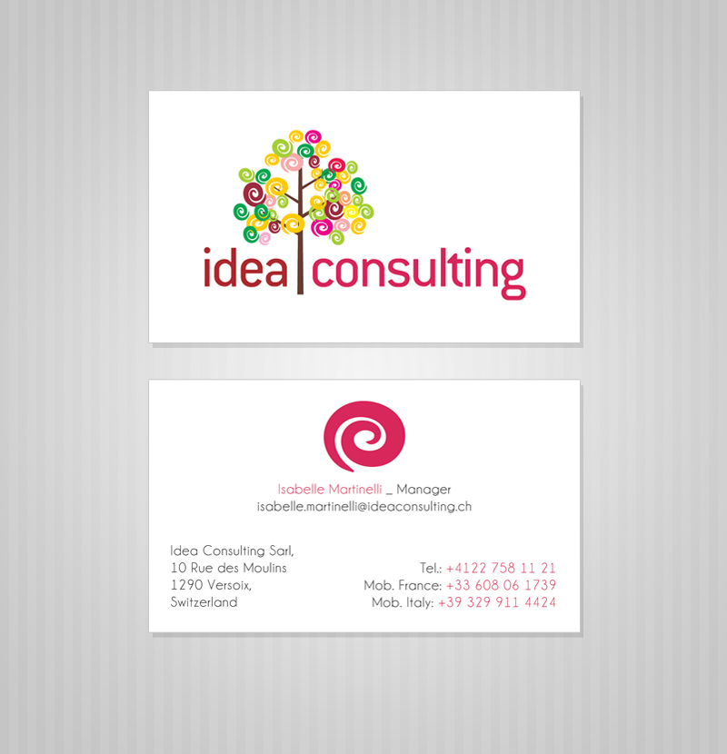 Professional modern market research business card design for a business card design by gulduk for this project design 966153 reheart Image collections