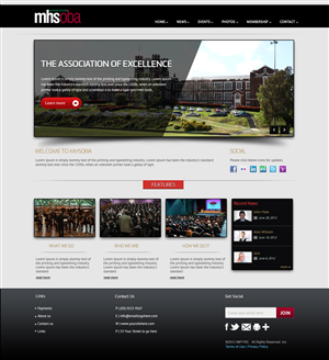 Web Design by OM - Melbourne High School Association Website New D...