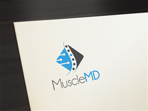Logo Design by PinworksDesign - New muscle pain treatment clinic!