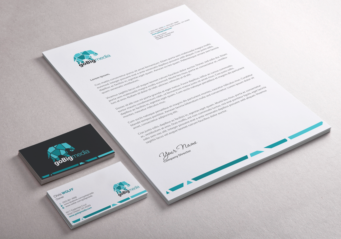 107 professional stationery designs construction stationery design