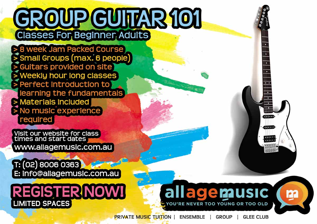 Poster design site - Poster Design Design 969552 Submitted To Poster Design To Promote Adult Group Guitar