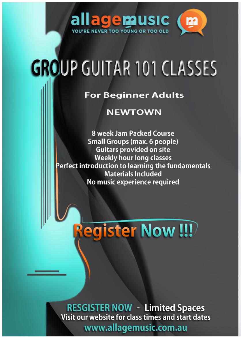 Poster design music - Poster Design By Astrodesigns For Poster Design To Promote Adult Group Guitar Classes For Music School